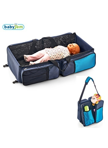 Babyjem Katlanır Pratik Seyahat Yatağı Laci-Baby Jem